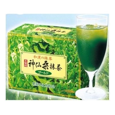 健康と美容が1杯の青汁で!まさかのおいしい青汁【お茶村 神仙桑抹茶ゴールド】