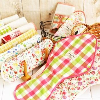 生理用品もオシャレでエコに☆「地球洗い隊」で地球にも体にも優しい布ナプキン