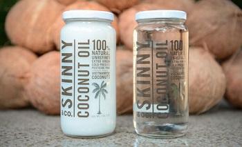 100%オーガニックなココナッツを使用☆芸能人も購入している「スキニーココナッツオイル」
